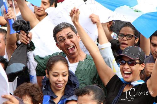 Tito Arriola falleció tras regresar a su casa, luego de participar en la marcha #27A, ocurrida en la Plaza de la Constitución. (Foto: Javier Corleto)