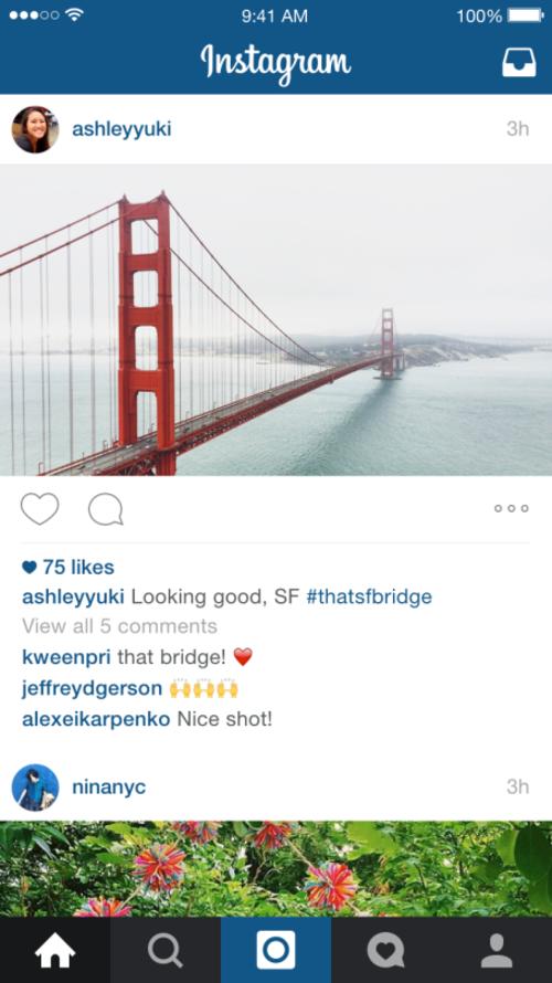 Los instagramers podrán publicar sus paisajes sin necesidad de editar la foto. (Foto: Instagram)
