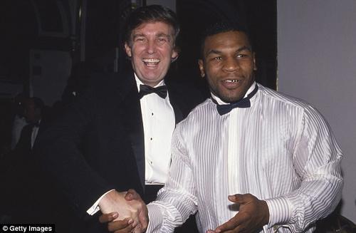 El exboxeador Myke Tyson también respalda la candidatura de Donald Trump. (Foto: dailymail.co.uk)