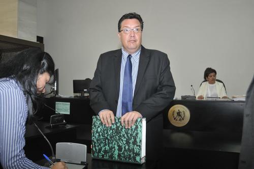 César Barrientos Aguilar, hijo del fallecido magistrado, fue acusado el año pasado de pertenecer a una red de trata de personas. (Foto: Nuestro Diario).