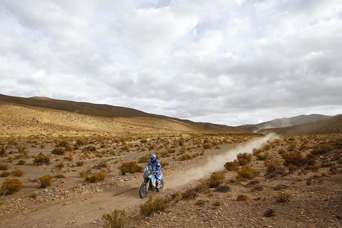Arredondo completó una travesía histórica en el Dakar, que ingresó nuevamente a Bolivia. (Foto: Francisco Arredondo)