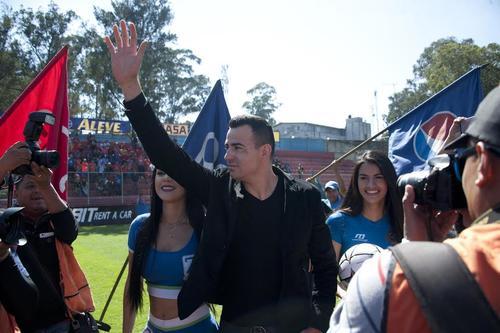 Marco Pablo Pappa fue presentado oficialmente como nuevo jugador de Municipal. (Foto: Nuestro Diario)