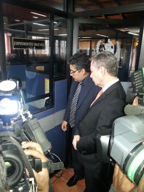 Jorge Briz, presidente de la Cámara de Comercio presentó un recurso de amparo en la CC. Foto: cortesía Cámara de Comercio/Soy502