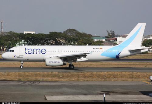 La aerolínea estatal de Ecuador Tame también anunció que ya no volará más hacia Caracas, capital de Venezuala. (Foto: Archivo)