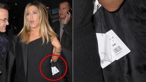 Esta es la imagen del descuido de Jennifer Aniston. (Foto: Infobae)