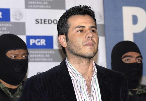 """Vicente Zambada Niebla, """"el Vicentillo"""" hijo de Ismael """"el Mayo"""" Zambada, cuyo juicio inicia esta semana en una corte de Estados Unidos."""