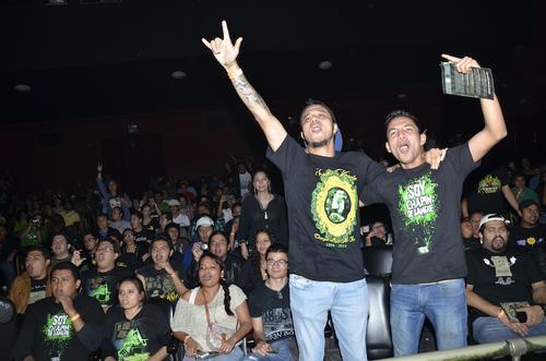 El público cantó junto a la banda, Estadío, La 6 y Daddy. (Foto: Abner Salguero/Nuestro Diario)