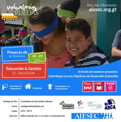 Todo lo que debes saber sobre Voluntarios sobre Ruedas. (Foto: AIESEC)