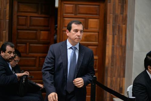 El sindicado Julio Aldana tenía una orden de captura, pero se presentó ante el juez en los primeros días de la audiencia y el jueves 23 de junio desistió de prestar declaración ante el juez. (Foto: Wilder López/Soy502)