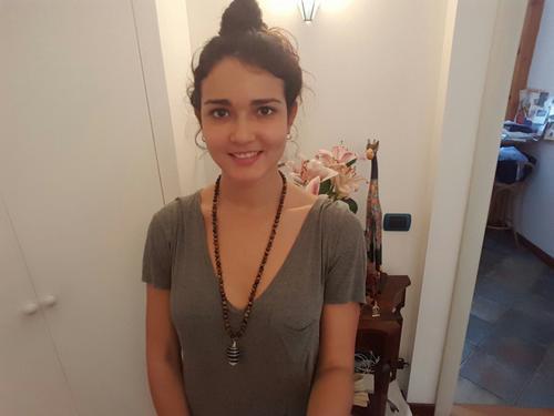 Giuliana es una guatemalteca que estudia en Milán, Italia desde 2012. (Foto: Cortesía Giuliana)