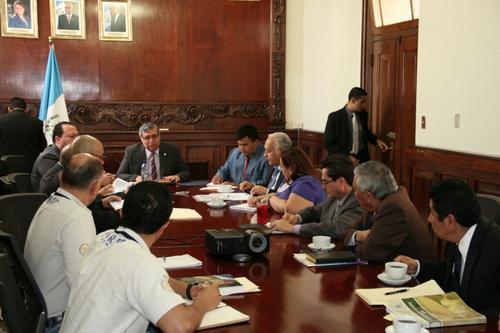 El vicepresidente Jafeth Cabrera presidió la reunión interinstitucional. (Foto: Vicepresidencia)