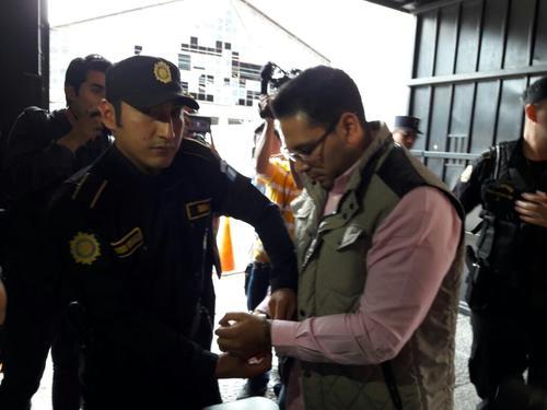 El titular de la DIGEF fue capturado en operativos de esta mañana. (Foto: Soy502)