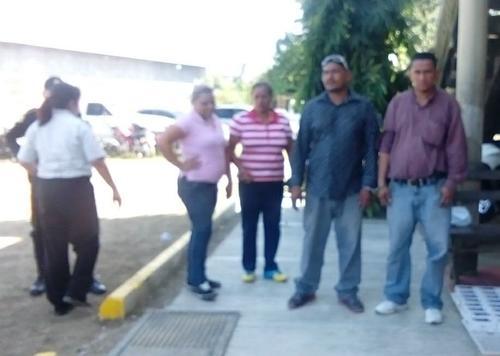 Dos mujeres y dos hombres de nacionalidad hondureña fueron capturados.  (Foto: PNC)
