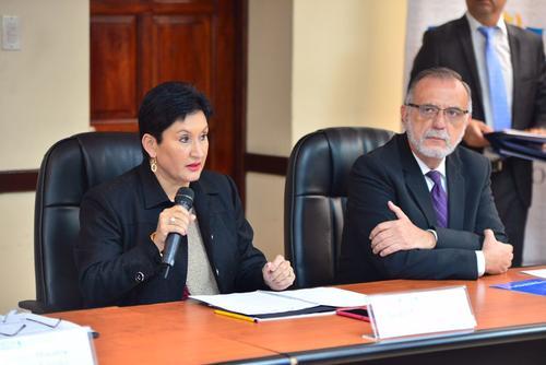 La Fiscal General indicó que con esta unidad se busca formular medidas que prevengan nuevos actos de corrupción en el Ministerio de Salud. (Foto: Jesús Alfonso/Soy502)