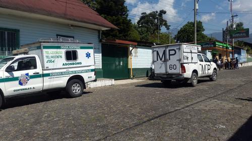 La niña murió en la emergencia del IGSS de Chicacao. (Foto: Pablo Mérida, Servicable)
