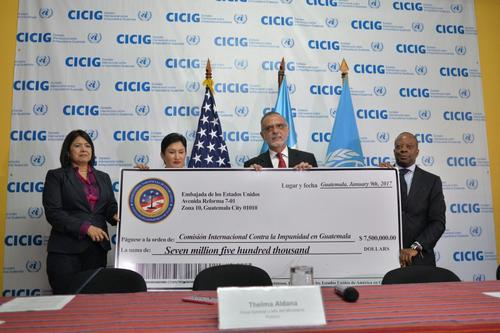 EE.UU. entregó la donación por valor de 7.5 millones de dólares. (Foto: Wilder López/Soy502)