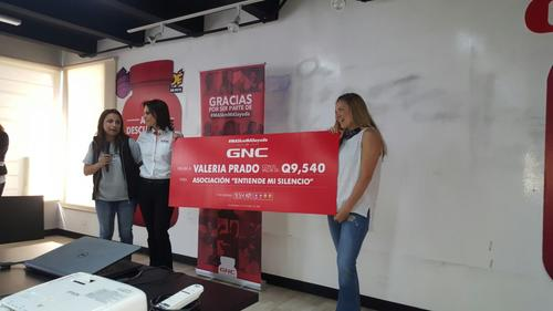 Valeria recaudó Q.9,540. (Foto: cortesía DDB Centro).