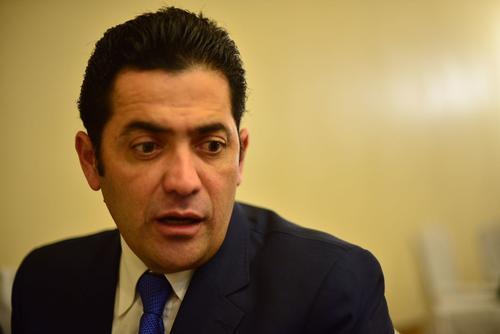 El diputado Chinchilla asumió como nuevo presidente del Congreso el pasado mes de enero. (Foto: Jesús Alfonso/Soy502)