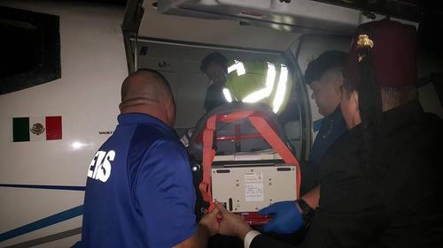 Cuatro de las menores afectadas por el incendio fueron trasladadas en aviones ambulancia hacia Estados Unidos. (Foto: Shriners)