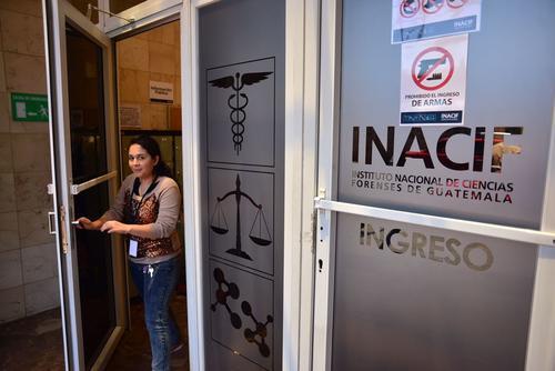 El Inacif entregó las pruebas al Ministerio Público y no reveló más datos, ya que el caso se encuentra bajo reserva. (Foto: Jesús Alfonso/Soy502)