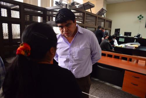 Manuel García Chutá fue diputado del PP y ahora perdió su curul tras ser enviado a prisión preventiva. (Foto: Jesús Alfonso/Soy502)