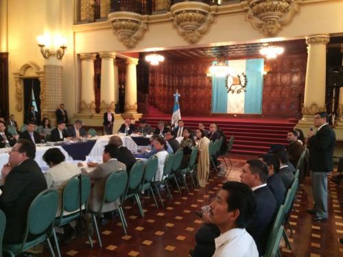 La reunión del Conabed estuvo a cargo del vicepresidente Jafeth Cabrera. (Foto: Vicepresidencia)