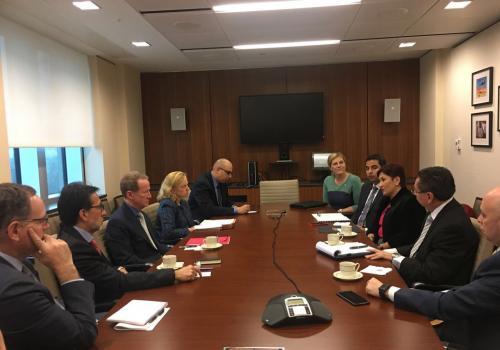 Las reuniones tienen como objetivo coordinar acciones para el fortalecimiento de los ministerio públicos de los tres países. (Foto: Ministerio Público)