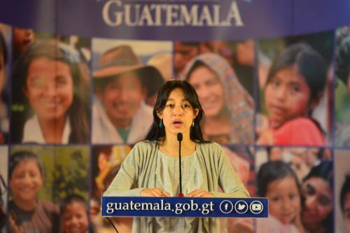 La ministra espera que este miércoles se pueda reconducir el diálogo. (Foto: Jesús Alfonso/Soy502)