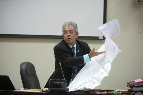 El juez Gálvez dijo que existen diversos documentos que corroboran las versiones de los testigos en el caso Cooptación del Estado. (Foto: Wilder López/Soy502)