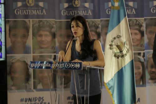 La ministra explicó que dos infectados recibieron el alta médica. (Foto: Alejandro Balán/Soy502)