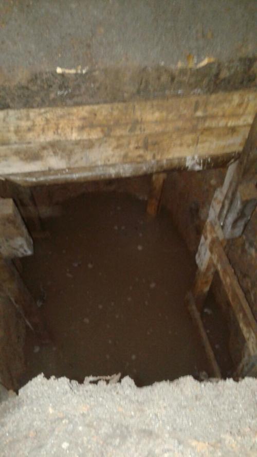 Esta es una de las imágenes del túnel descubierto. (Foto: SP)