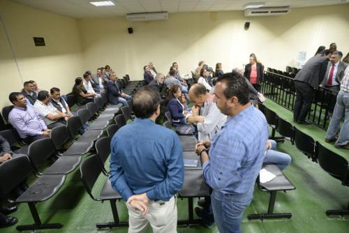 """La audiencia se realizará en la denominada """"Megasala"""" de audiencias, donde estarán 60 implicados. (Foto: Wilder López/Soy502)"""