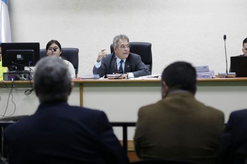 El juez Miguel Ángel Gálvez llamó a los abogados a coordinarse para las audiencias. (Foto: Alejandro Balán/Soy502)