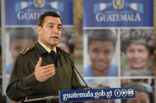 Ministro Williams Mansilla aceptó la falta de filtros en su institución. (Foto: Jesús Alfonso/Soy502)