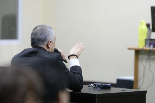 """Salvador González, alías """"Eco"""" declara ante el juez. (Foto: Wilder López/Soy502)"""