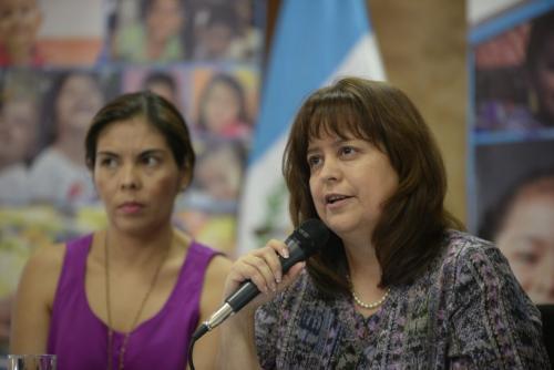 Cándida Rabanales asumió el cargo tras la tragedia. (Foto: Wilder López/Soy502)