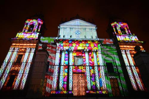 La Catedral Metropolitana se vistió de fiesta. (Foto: Wilder López/Soy502)