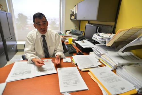 Antonio Morales, de la FECI, presentará en los próximos días la acusación en contra de Roxana Baldetti. (Foto: Wilder López/Soy502)