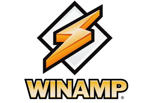 El reprodructor de multimedia Winamp.