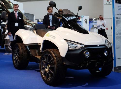 El sistema eléctrico del X-Terran cuenta con tres conjuntos de baterías de ion litio, que hacen un total de 8.7 kWh. (Foto: Internet)