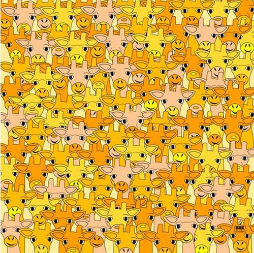 Llega un nuevo reto visual, esta vez se trata de encontrar al maestro Yoda que está escondido entre un grupo de jirafas. (Foto: mott.pe)