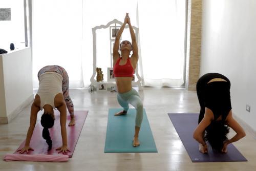 El Ashtanga Yoga consiste en 8 etapas. (Foto: Alejandro Balán/Soy502)