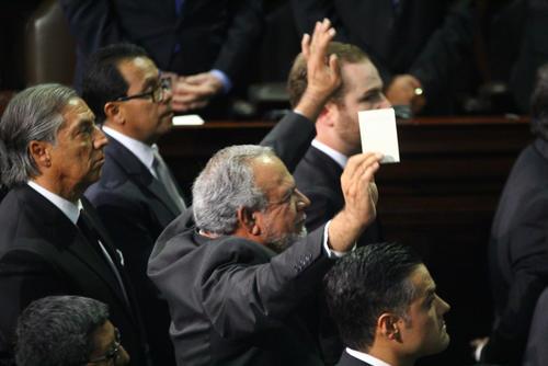 Zamora, pidió a Rabbé que lo sacara por la fuerza (Foto: Alexis Batres/Soy502)