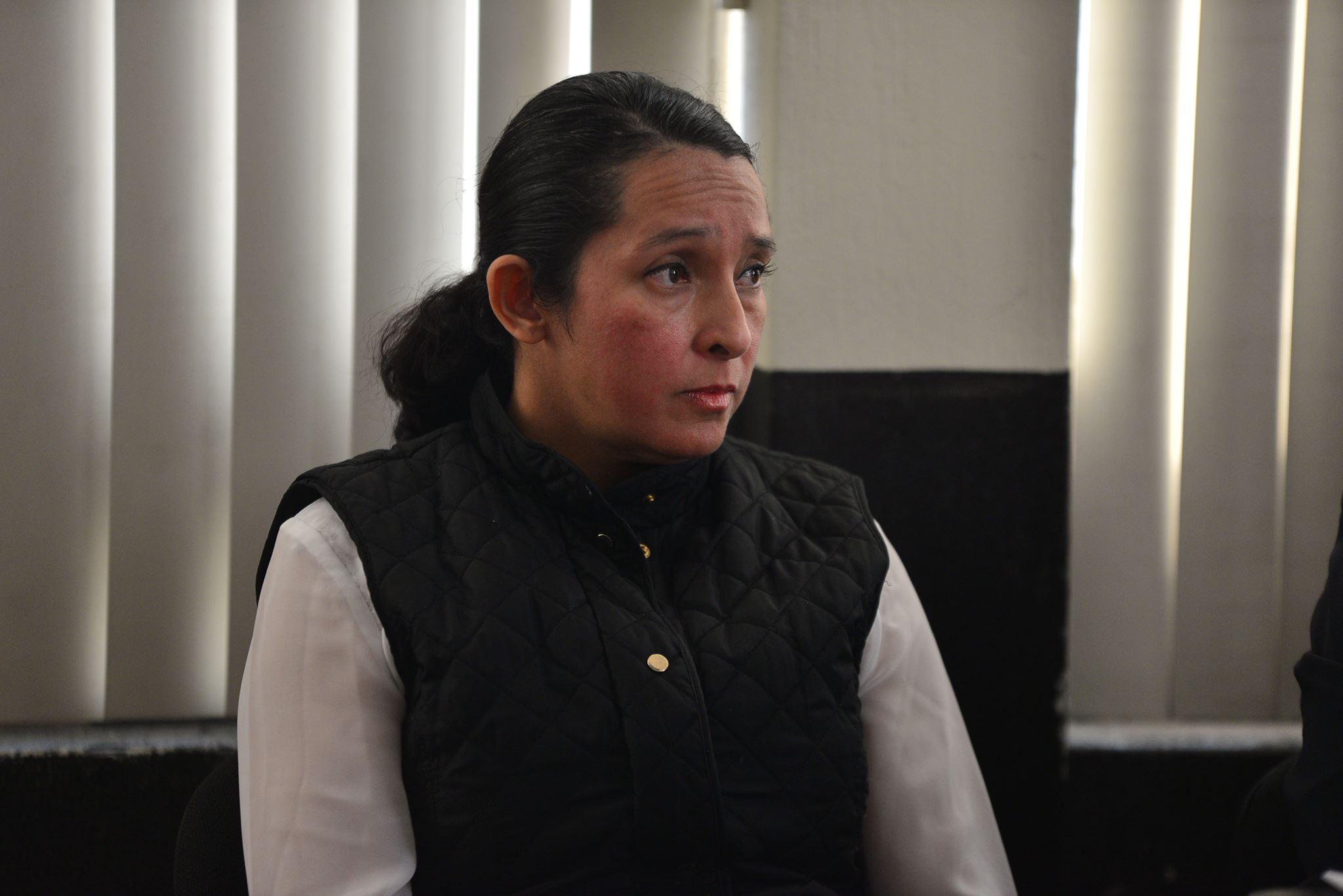 Claudia Bolaños ex asistente de Pedro Muadi
