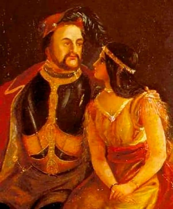 John Rolfe sa casó con Pocahontas en 1613 cuando ella tenía 18 años. (Imagen Infobae)