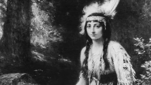Pocahontas nació en 1595 en Virginia, que en ese entonces era una colonia inglesa. (Foto Infobae)