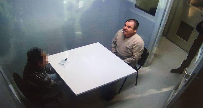 Joaquín Guzmán Loera fue extraditado a Estados Unidos en enero de este año. (Foto. nytimes.com)