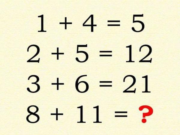 Esta la imagen de la cual surge el nuevo reto matemático. (Imagen Infobae)