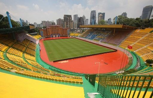Así luce ahora el estadio del equipo Guangzhou R&F. (Foto. AFP)