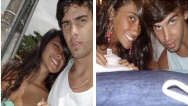Aunque no fue identificado, estas fotos demostrarían la relación que sostuvo Antonella con otro hombre. (Foto. upsocl.com)